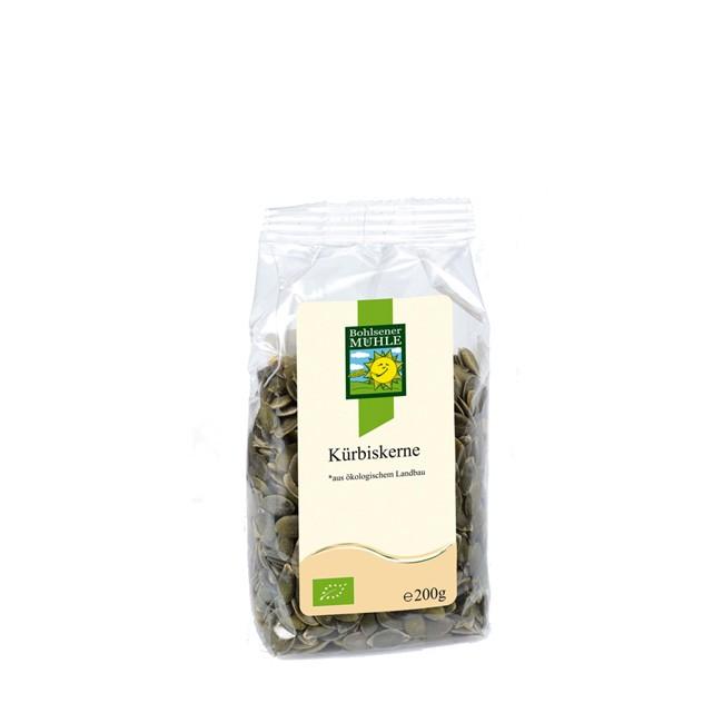 Bohlsener-mühle-kürbiskerne-dunkelgrün-bio-200g