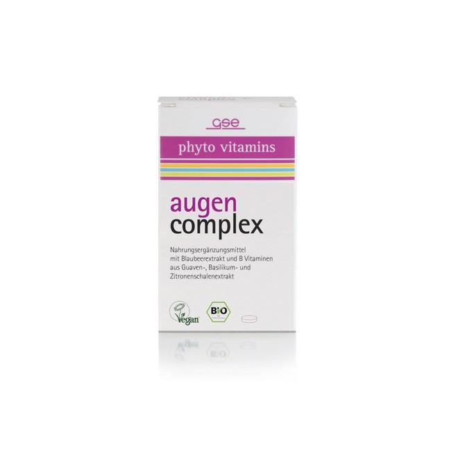 GSE Augen Komplex Tabletten, bio (60 Stk)