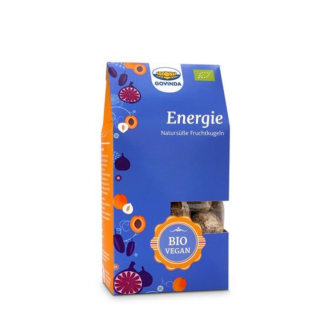 Energie Kugeln von Govinda 120g - vegane natursüße Fruchtkugeln