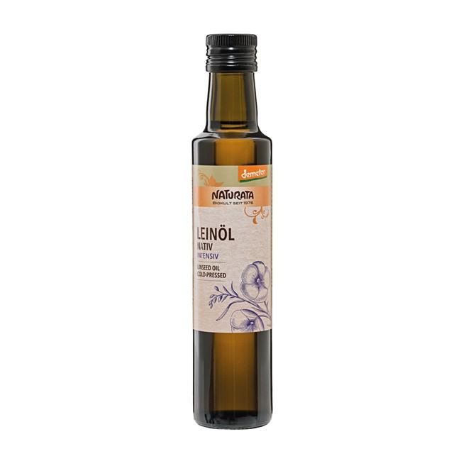 NATURATA Demeter Leinöl 250ml-Flasche - höchste Qualität