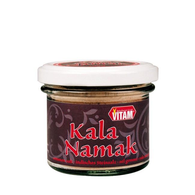 Vitam Kala Namak Schwefelsalz Schwarzsalzvulkanisches Steinsalzmineral für  indische ayurvedische Gerichte 100g