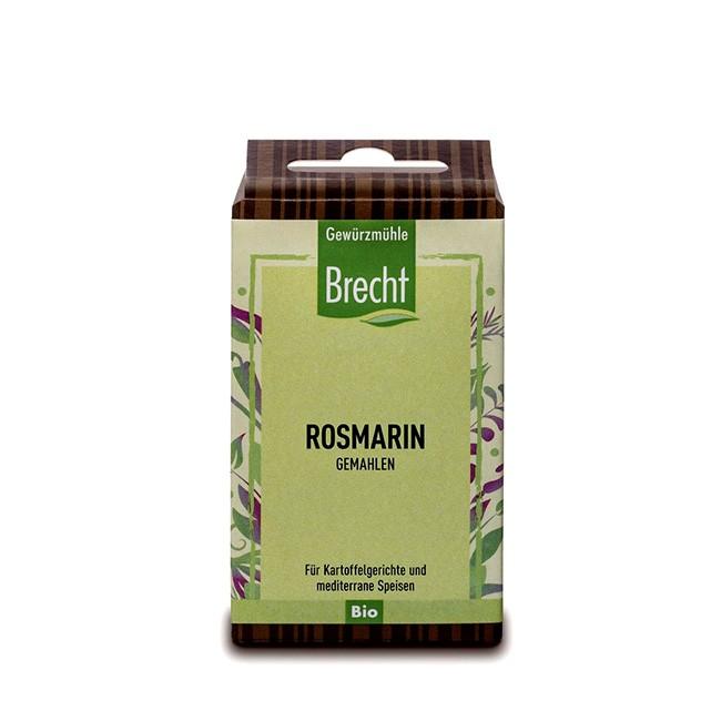 gemahlener Rosmarin von Brecht - bio - Nachfüllpack 25g
