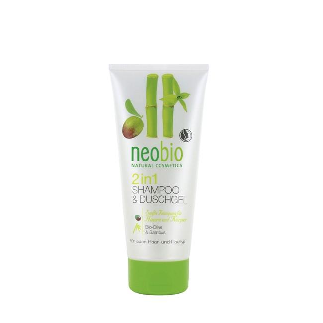 Neobio : 2 in 1 Dusche und Shampoo (200ml)