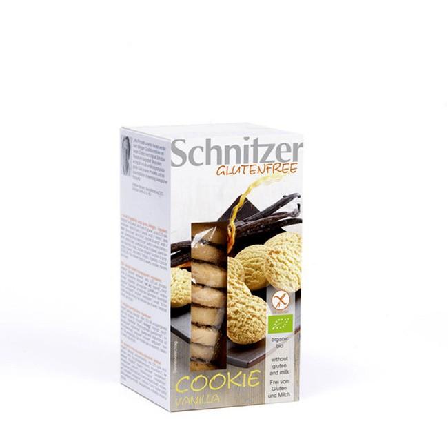 Super leckere Schnitzer Vanilla Cookies 150g glutenfrei, vegetarisch vegan mit echter Bourbon Vanilla