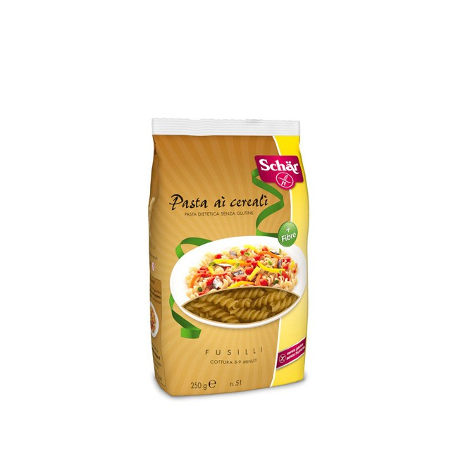 Dr. Schär Fusilli Pasta ai Cereali 250g