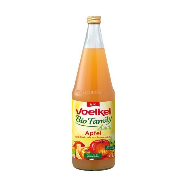 Voelkel: Family Apfelsaft mit Streuobst, bio (1l)