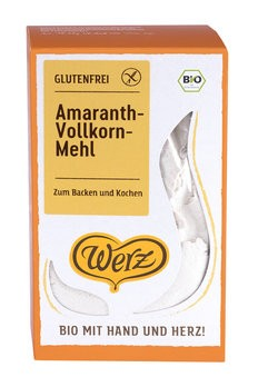 Werz : Glutenfreies Amaranth-Mehl, bio (500g)