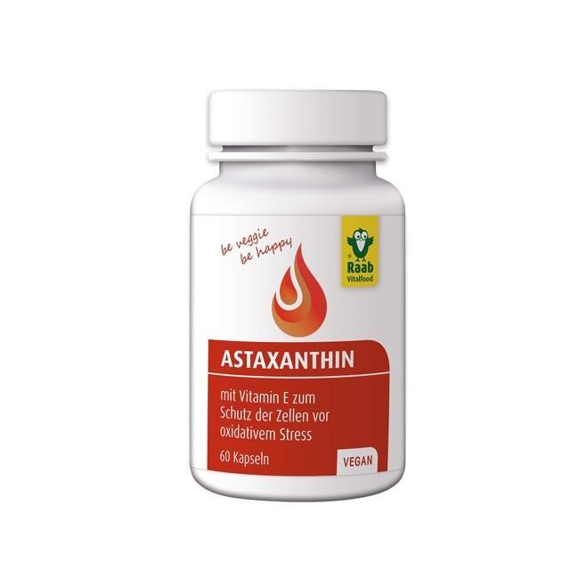 Raab Astaxanthin Kapseln 60 Stk