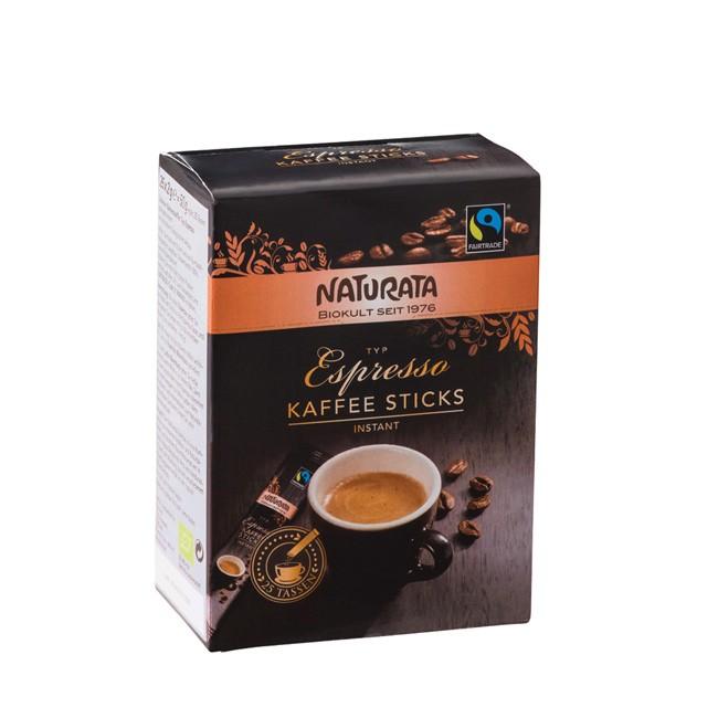Naturata Fairtrade löslicher Epresso in 25 Einzelportionen à 2g