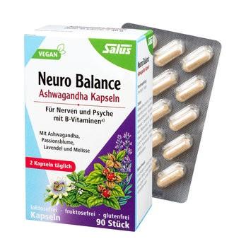 Salus : Neuro Balance Ashwagandha Kapseln (90 Stk)