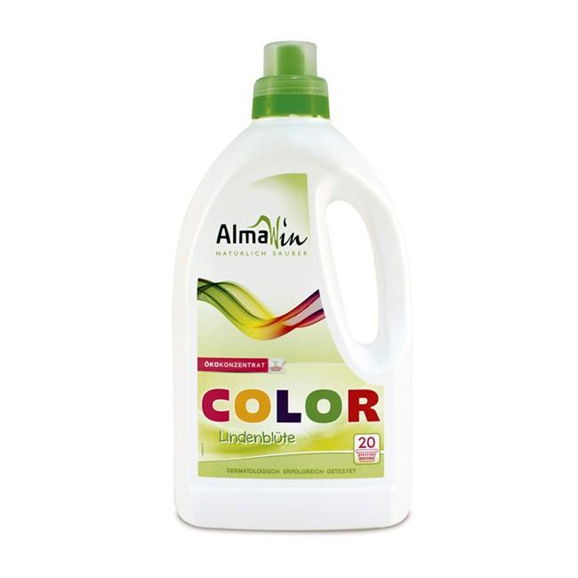 Flüssiges Bio Waschmittel für Farbiges - Color von AlmaWin 1,5l