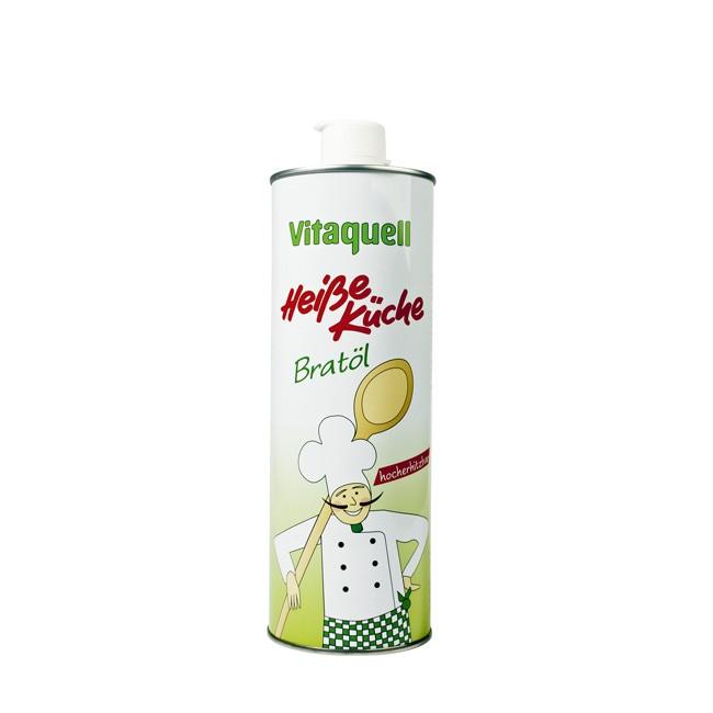 Brat-Bratöl von Vitaquell zum Erhitzen geeignet 500ml