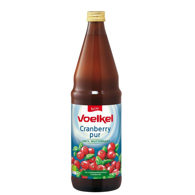Voelkel : Cranberry pur - Muttersaft, bio (0,75l)