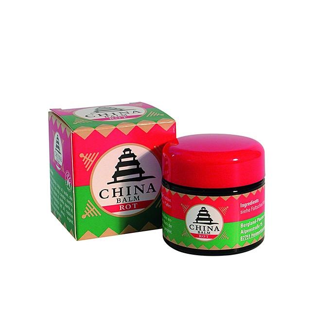 bewährt bei Erkältung und Kopfschmerz - China Balm rot von Bergland (20ml)