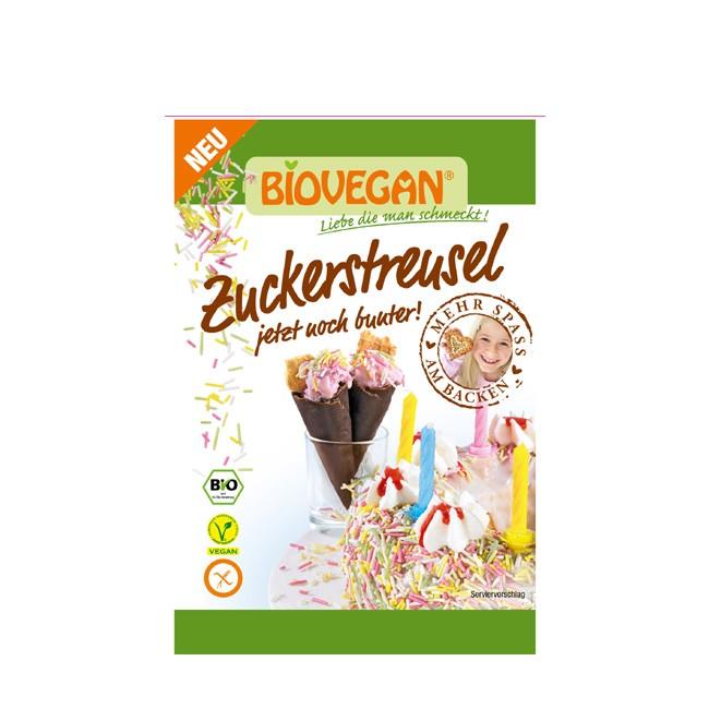 Biovegan-Zuckerstreusel-gemischt