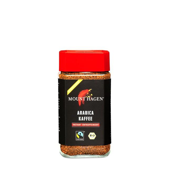 Mount Hagen Instant Kaffee Arabica ohne Koffein