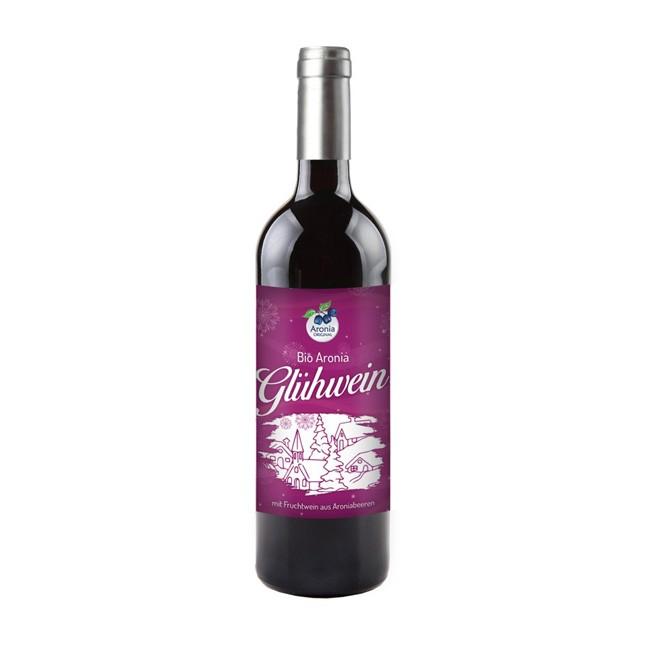 Bio Aronia Glühwein 0,75 l - die leckere Alternative in der kalten Jahreszeit