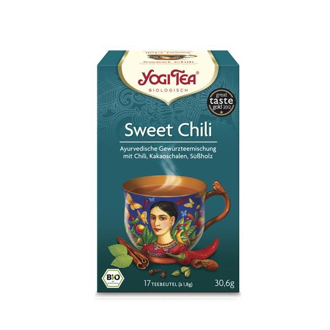 Sweet Chili Tee mit Brennnessel Kakao von Yogi Tea in 17 Beutel