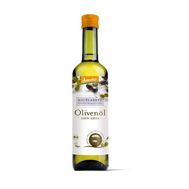 Bio Planete Demeter Olivenöl, nativ (500ml)