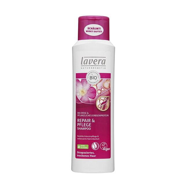 Lavera Shampoo Repair und Pflege für strapaziertes und trockenes Haar(250ml)