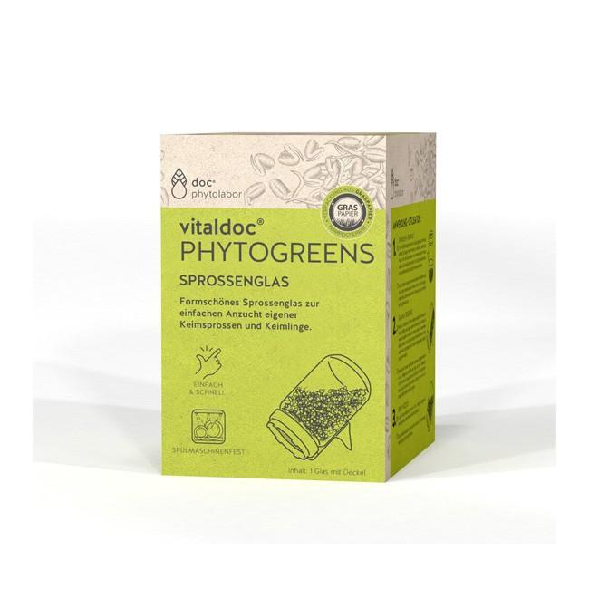 Vitaldoc Phytogreens Sprossenglas (1 Stk)