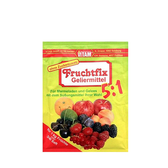Pflanzliches Geliermittel Citruspektin von Vitam Fruchtfix Geliermittel 5:1 10g