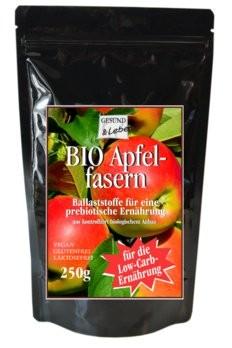 Gesund und Leben : Apfelfasern, bio (250g)