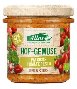 Allos : Hofgemüse Patricks Tomate Pesto, bio (135g)