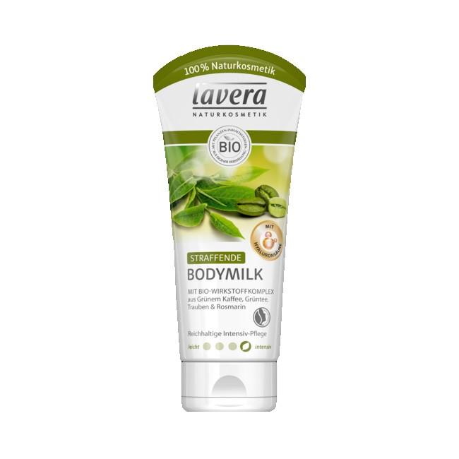 Straffende Bodymilk von Lavera (200ml) natrue