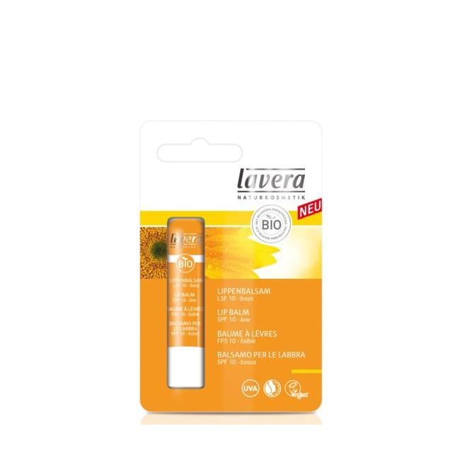 Lavera SUN-Lippenpflege mit Lichtschutzfaktor 10 - Für Strand und Berge