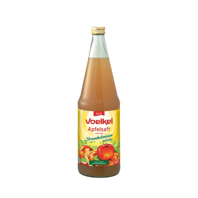 Voelkel Apfelsaft naturtrüb Streuobst bio 1l