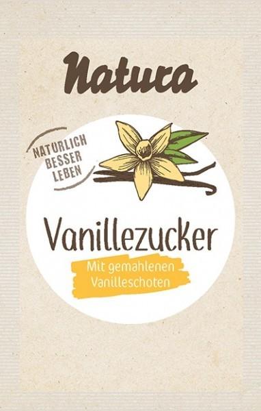 Natura : Vanille-Zucker mit Bourbon-Vanille (5x8g)