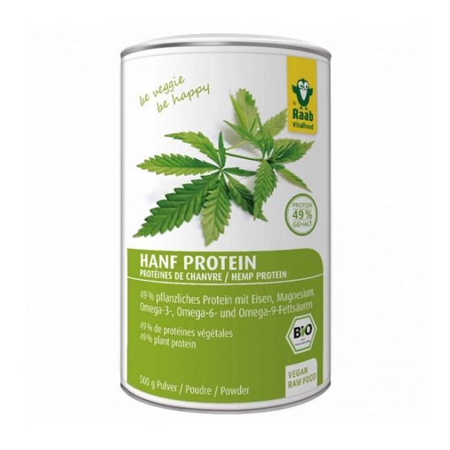Bio Hanf Protein Pulver von Raab (500g)