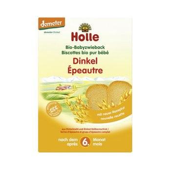 Holle : Bio Baby Dinkel Zwieback, demeter (200g)