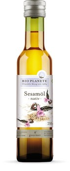 Bio Planète : Sesam-Öl nativ, bio (250ml)