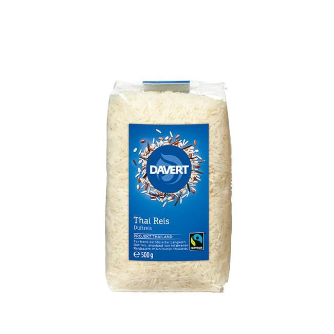 Bio Thai Reis weiß von Davert (500g)