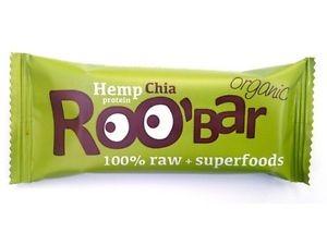 Roobar Riegel mit Chia und Hanfprotein (50g)