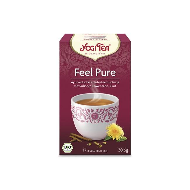 Yogi Tea Pure Tee mit Löwenzahn und Anis, bio (17 Teebeutel)