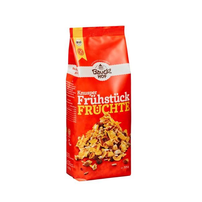Glutenfreies Früchte Knusper Müsli 325g