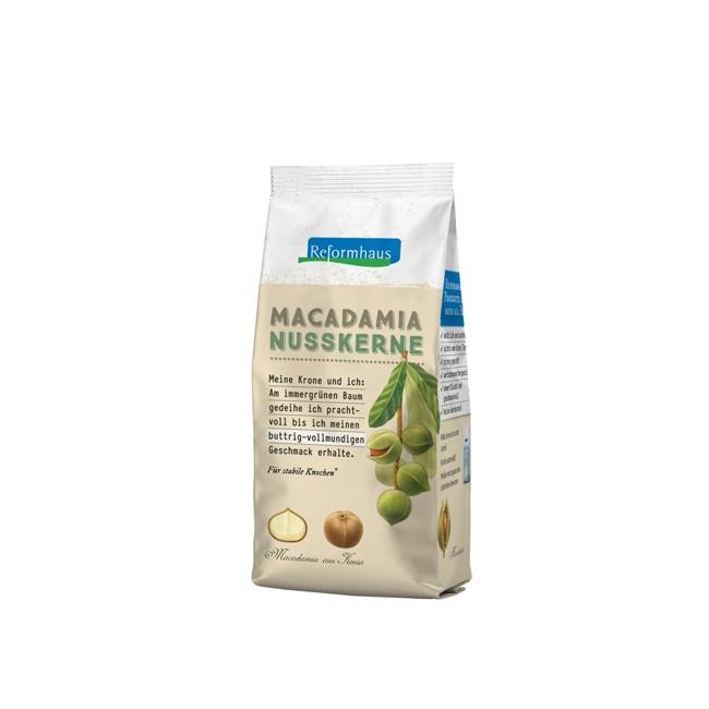 Nährstoffreiche bio Macadamia Nusskerne (75g)