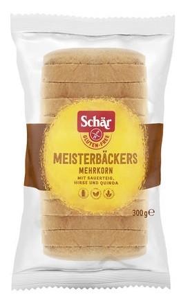 Dr. Schär : Meisterbäcker Mehrkorn Brot, glutenfrei (300g)