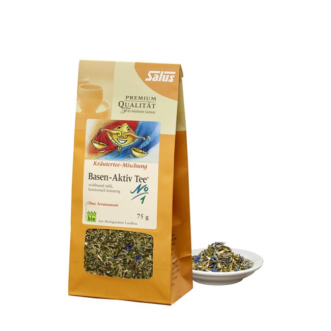 Salus Bio Basen-Aktiv Tee (75g lose) passt zu Fastenkuren und Diäten