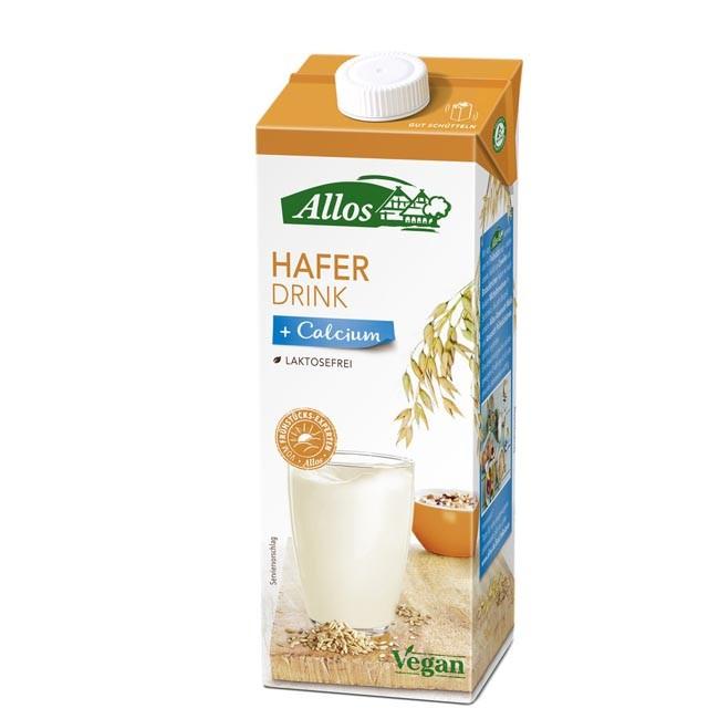 Allos : Hafer Calcium Drink, bio, 1l