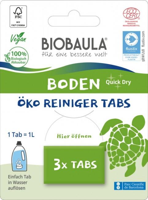 Biobaula : Bodenreiniger-Tabs, bio (3 Tabs)