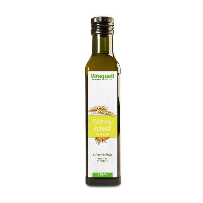 Vitaquell Weizenkeimöl mit Sanddorn 250ml