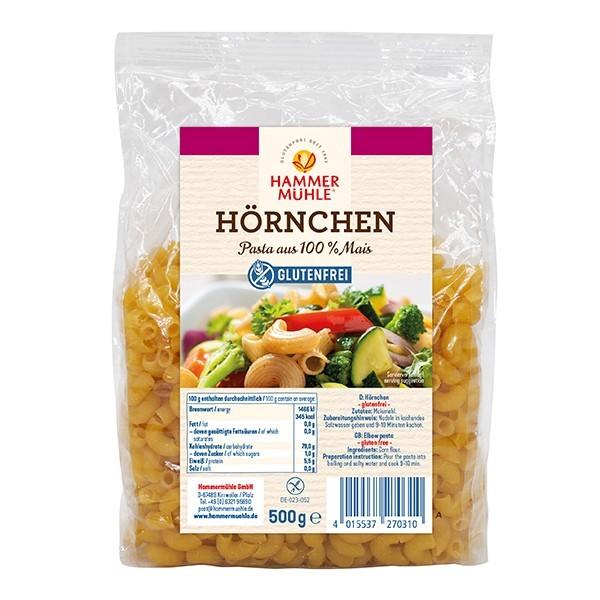 Hammermühle : Glutenfreie Hörnchennudeln (500g)