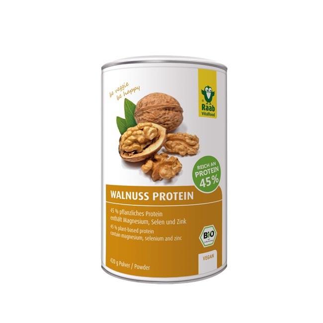 Raab: Walnuss Protein Pulver, bio (420g)