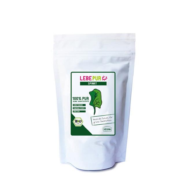 LebePur-Spinat-100g-bio-Smoothie-Pulver