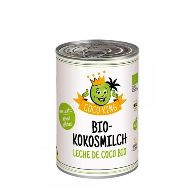 Coco King Bio Kokosmilch in der Dose (400ml)
