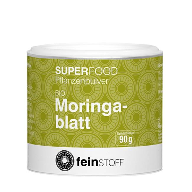 Feinstoff Moringa Blattpulver in Bio Qualität